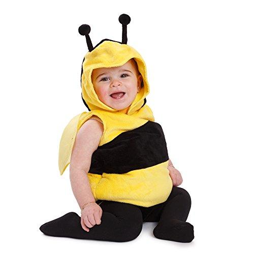 Dress Up America Bienenflauschiges Kinderkostüm