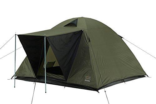 Grand Canyon Phoenix M - Kuppel-/ Igluzelt, 3 Personen, für Trekking, Camping, Outdoor, Festival, olive/schwarz, 602001