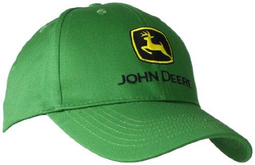 John Deere Baseballmütze mit gesticktem Logo – Einheitsgröße – Herren Green