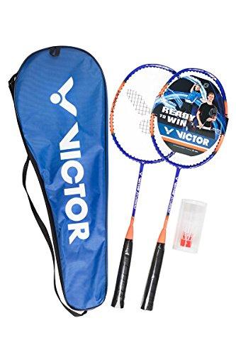 Badminton-Set VICTOR V-2900 PREMIUM JUNIOR SET - 2 Badmintonschläger mit verkürztem Schaft