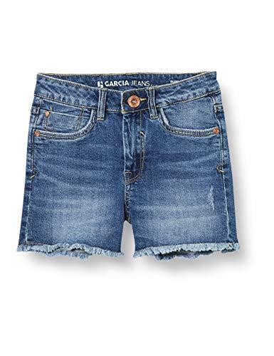 Garcia Kids Mädchen Rianna Shorts, Blau (Medium Used 5171), (Herstellergröße: 140)