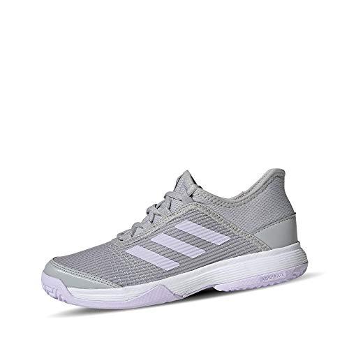 adidas Adizero Club K Tennisschuh, Grau Zwei F17 Lila Tönung FTWR Weiss, 36 EU