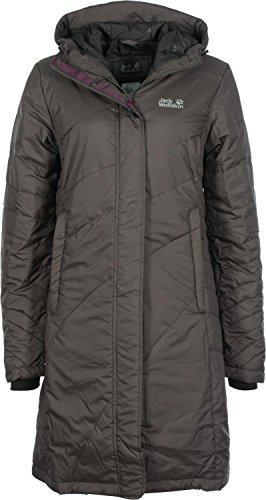 Jack Wolfskin Damen Mantel Nova Iceguard, dark steel, XS, 1201561-6032001