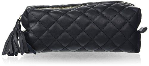 PIECES Damen Pcnanci Pencil Case Clutch, Schwarz (Black), 7x9x20 cm