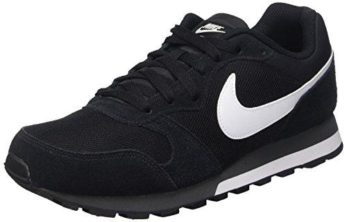 Nike Md Runner 2, Herren Gymnastikschuhe, Schwarz (Black/White-Anthracite 010), 42 EU