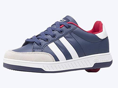Beppi Breezy Rollers 2176231 Schuhe mit Rollen 2-in-1 Kinderschuhe blau Navy Blue, 34