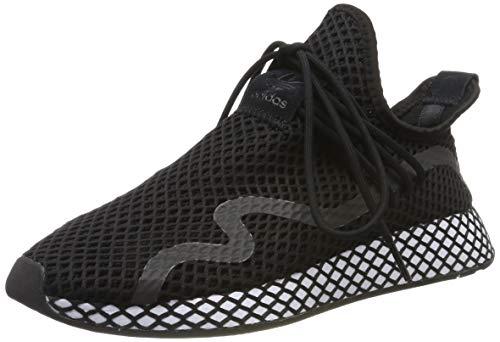 adidas Herren Deerupt New Runner Sneaker, Schwarz (Core Black/Core Black/Footwear White 0), 44 EU