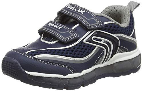 Geox Jungen J Android Boy C Sneaker, Blau (Navy/Grey C0661), 30 EU