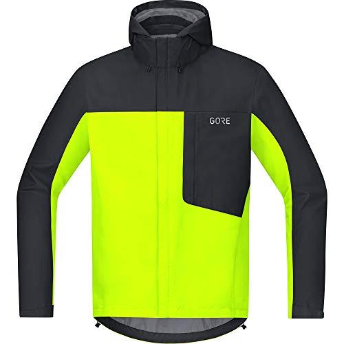 GORE Wear C3 Herren Kapuzenjacke GORE-TEX, XL, Neon-Gelb