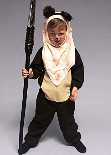 Magic Box Kinder Größe Ewok Style Kostüm Small (3-5yrs)
