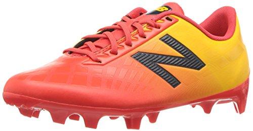 New Balance Herren Furon v4 Dispatch FG Fußballschuhe, Orange (Flame/Aztec Gold/Galaxy Fa4), 43 EU
