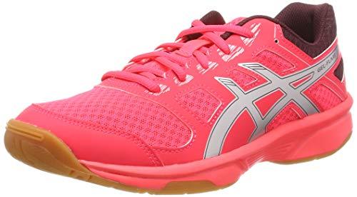 ASICS Unisex-Kinder Hallenschuh Gel-Flare 6 GS Multisport Indoor Schuhe, Pink (Diva Pink/Silver 700), 39 EU