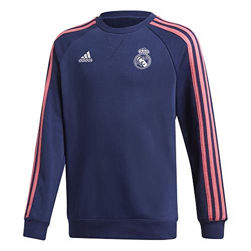 Adidas Real Madrid Saison 2020/21 Trainings-Sweatshirt für Kinder, Blau, M