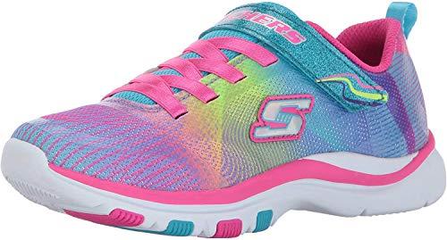 Skechers Girl's 81488L Slip On Trainers, Multicolour (Multicolour), 12.5 UK Child (31 EU)