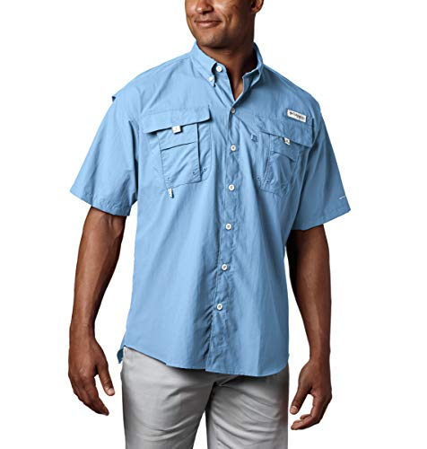 Columbia Herren Bahama II Short Sleeve Angeln Shirt (Sail, 3 x T)