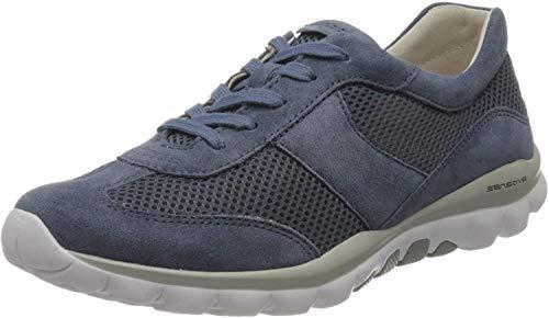 Gabor Shoes Damen Rollingsoft Sneaker, Blau (Nautic 26), 41 EU