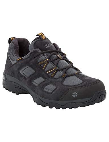 Jack Wolfskin Herren Vojo Hike 2 Texapore Low M Wasserdicht Trekking-& Wanderhalbschuhe, Grau (Phantom 6350), 41 EU
