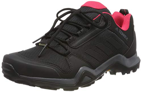 adidas Damen Terrex AX3 GTX W Fitnessschuhe, Mehrfarbig (Carbon/Negbás/Rosact 000), 37 1/3 EU