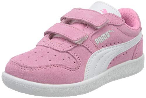 Puma Unisex-Kinder ICRA TRAINER SD V PS Sneaker, Sachet Pink White Silver, 31 EU