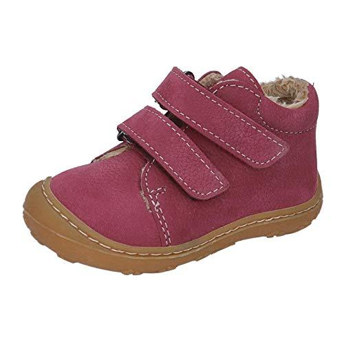 RICOSTA Kinder Lauflern Schuhe Crusty von Pepino, Weite: Mittel (WMS),terracare, Klettverschluss flexibel leicht Kids,Fuchsia,22 EU / 5.5 Child UK