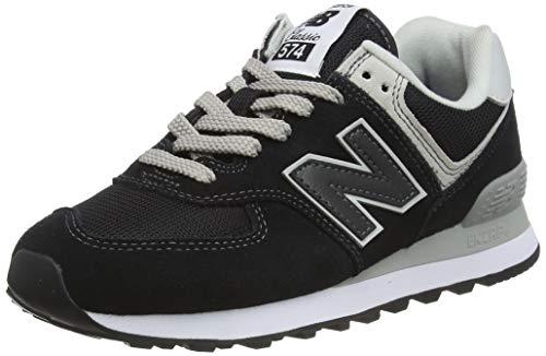 New Balance Damen 574v2 Core Sneaker, Schwarz (Black), 41 EU