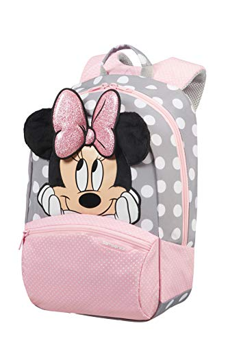 Samsonite Disney Ultimate 2.0 - Kinderrucksack S+, 35 cm, 11.5 L, Mehrfarbig (Minnie Glitter)