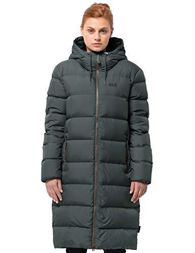 Jack Wolfskin Damen Crystal Palace Coat Winterjacke, Greenish Grey, XL