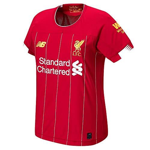 New Balance Liverpool FC 2019/20 Home Damen Ss Top Size 44