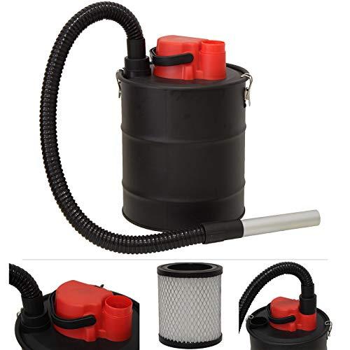 Grafner Aschesauger 20 Liter 1200 Watt mit HEPA-Filter und Saug- und Blasfunktion Kaminsauger Grillsauger Pelletsauger HEPA Feinfilter