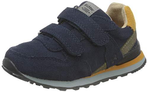 Richter Kinderschuhe Junior 7628-8111 Sneaker, 7201atlantic/curry/clay, 27 EU