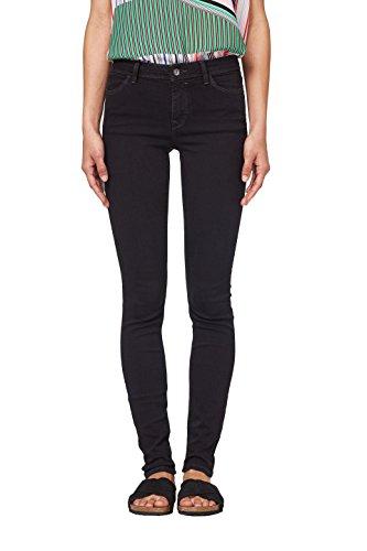 edc by ESPRIT Damen 998CC1B816 Skinny Jeans, Schwarz (Black Rinse 910), W29/L32