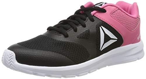 Reebok Jungen Baby Mädchen Rush Runner Gymnastikschuhe, Schwarz (Black/Pink Black/Pink), 28 EU