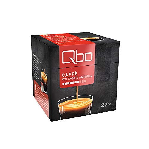 Tchibo Qbo Caffè Volcanes Antigua Kapseln, 216 Stück – 8 x 27 Kapseln (Kaffee, bittersüße Schokoladenaromen)