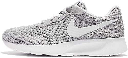 Nike Damen WMNS Tanjun Sneaker, Wolfgrau Weiß, 39 EU
