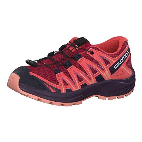 Salomon Kinder Sportschuhe, XA PRO 3D J, Farbe: rot/orange (Cerise/Dubarry/Peach Amber), Größe: EU 32