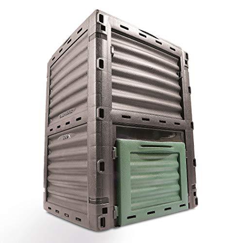 Garten Komposter Kunststoff (In Europa hergestellt) 300l