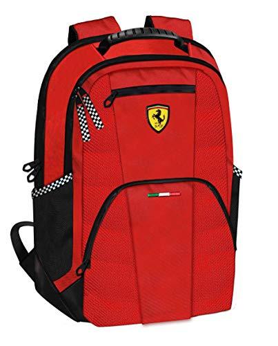 Ferrari GROßER RENNRUCKSACK OFFIZIELLES Team ROT