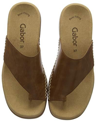 Gabor Shoes Damen Jollys Pantoletten, Braun (Peanut 24), 44 EU