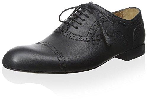 Gucci Damen Leder Oxford, (schwarz), 39 EU