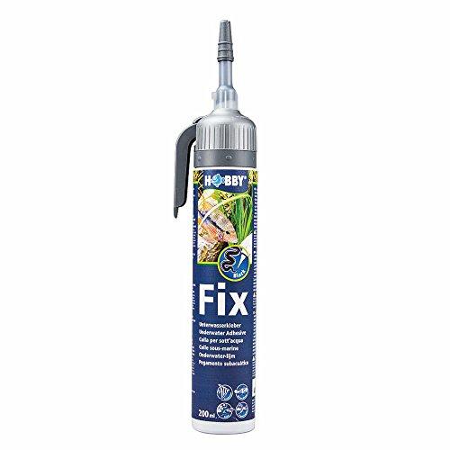 Hobby 11965 Fix Unterwasserkleber, 200 ml, Kartusche, schwarz,