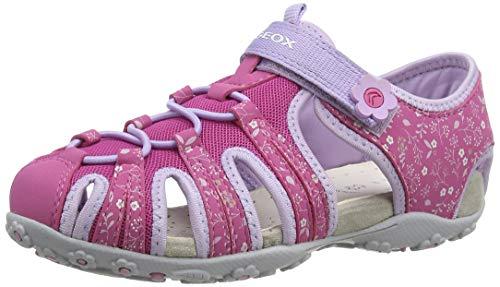 Geox Mädchen JR Roxanne B Geschlossene Sandalen, Pink (Fuchsia/Lilac C8257), 30 EU