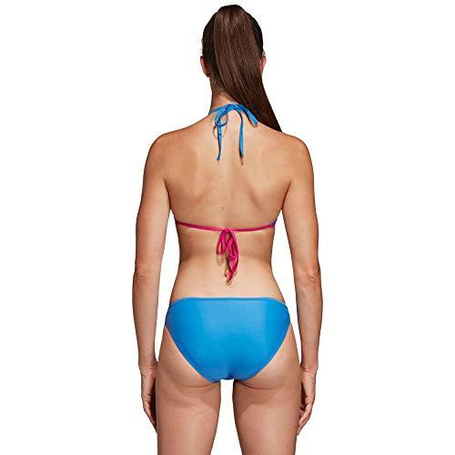 adidas BW 3-Stripes NH Bikini Damen real Magenta/True Blue Größe DE 36 | S 2019 Bademode