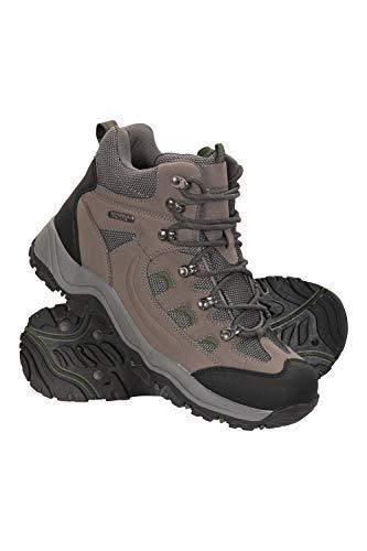 Mountain Warehouse Adventurer Stiefel für Herren - Wasserfeste Regenstiefel, Wanderschuhe aus Synthetik, Allwetterschuhe für Herren - Schuhe zum Wandern und Trekken Khaki 42