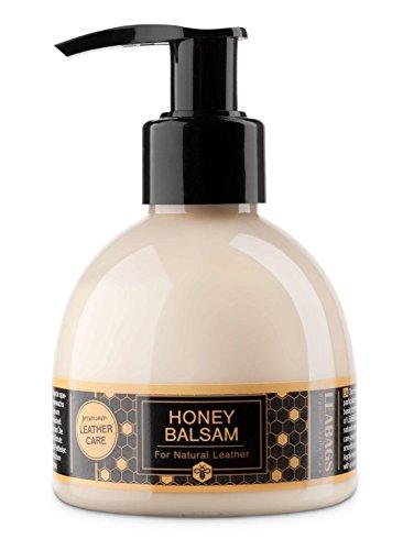 LEABAGS Honey Balsam Lederpflegelotion für alle Arten von Glatt- und Fettleder - 125 ml