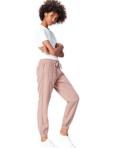 Amazon-Marke: find. Damen Hose, Rosa (Pink), 40, Label: L
