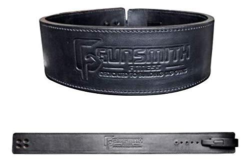 Gunsmith Fitness Apex Gewichthebergürtel – Ultra Premium handgefertigt, Schwarz, L