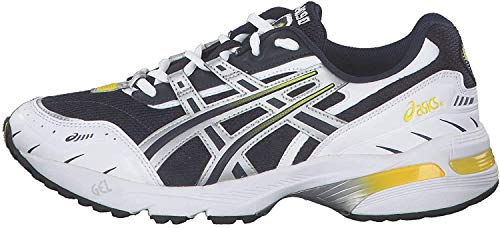 ASICS Gel-1090 Sneaker Herren blau/Silber, 12.5 US - 47 EU