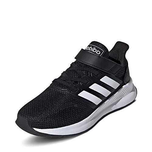 adidas Unisex-Kinder Runfalcon Road Laufschuhe, Schwarz (Core Black/Footwear White/Core Black), 32 EU