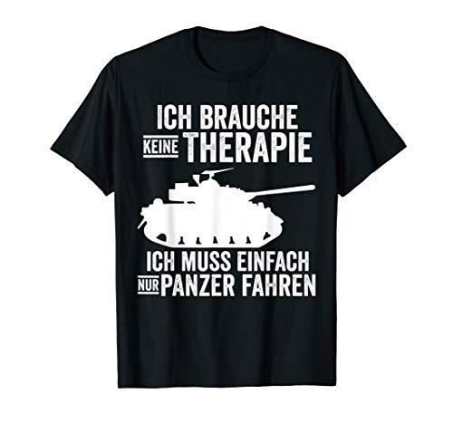 Panzer Panzerfahrer Bundeswehr Soldat T-Shirt