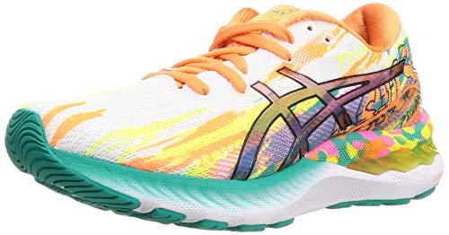 ASICS Damen Gel-Nimbus 23 Road Running Shoe, Rose Puissant Jaune, 42 EU